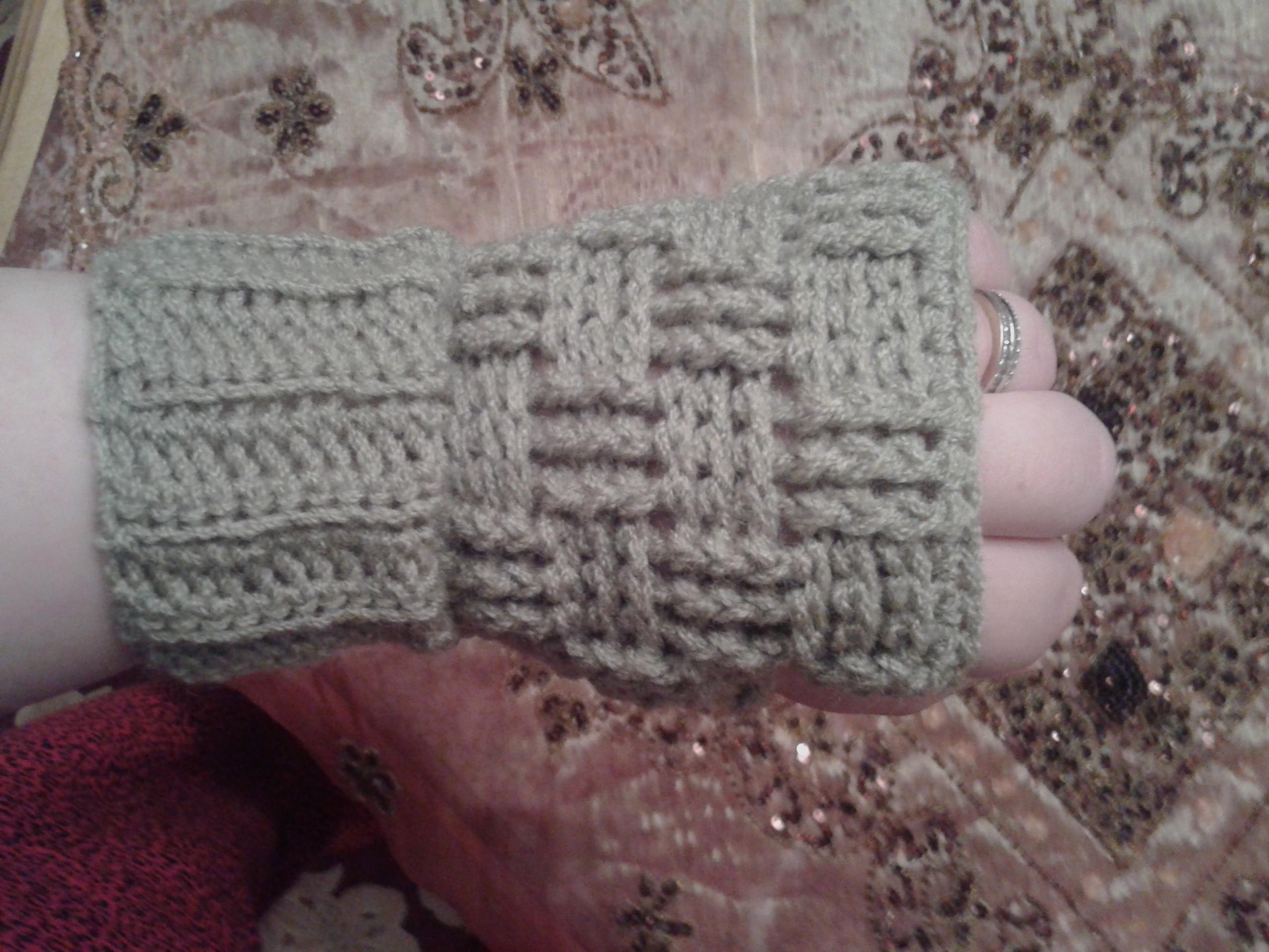 Crochet Fingerless Mitts