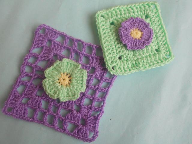 Crochet Afghan Squares