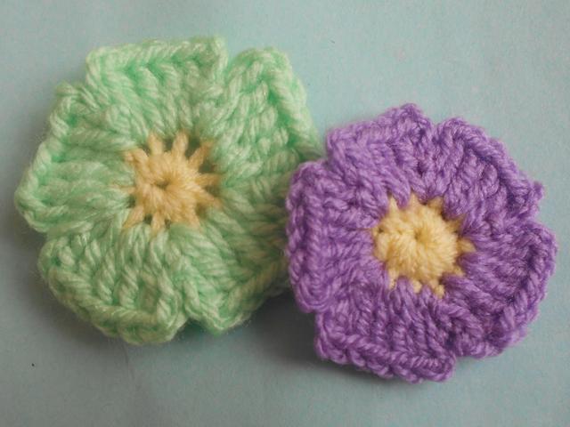 Easy Crochet Flowers