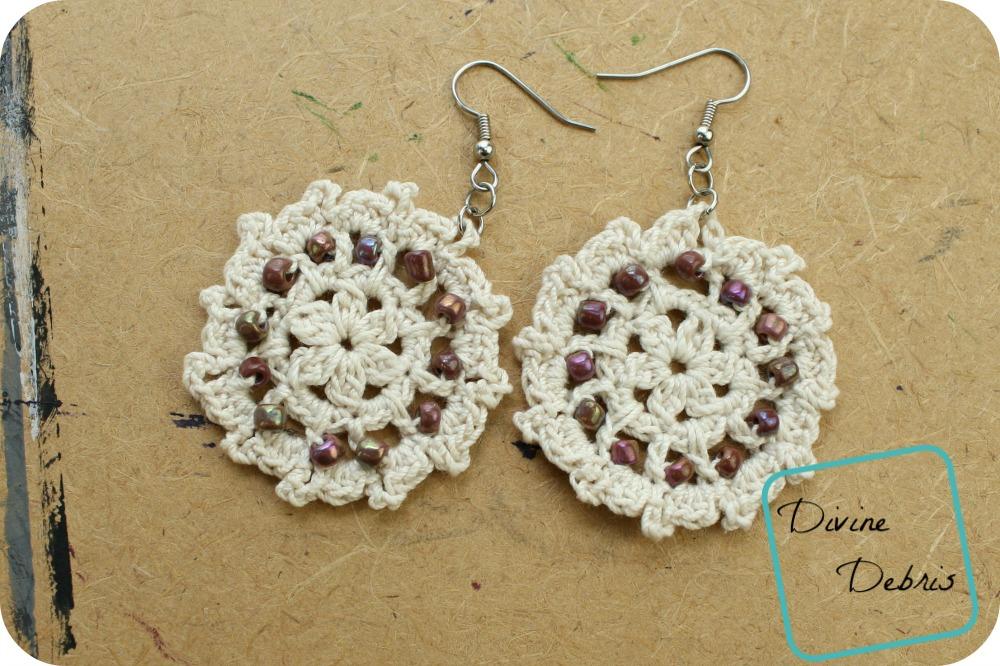 Crochet Earring Free Crochet Pattern