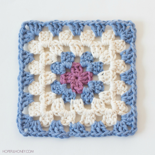 Every crocheter needs to know how to crochet a granny square, as they are so versatile and easy to crochet! Free pattern available.