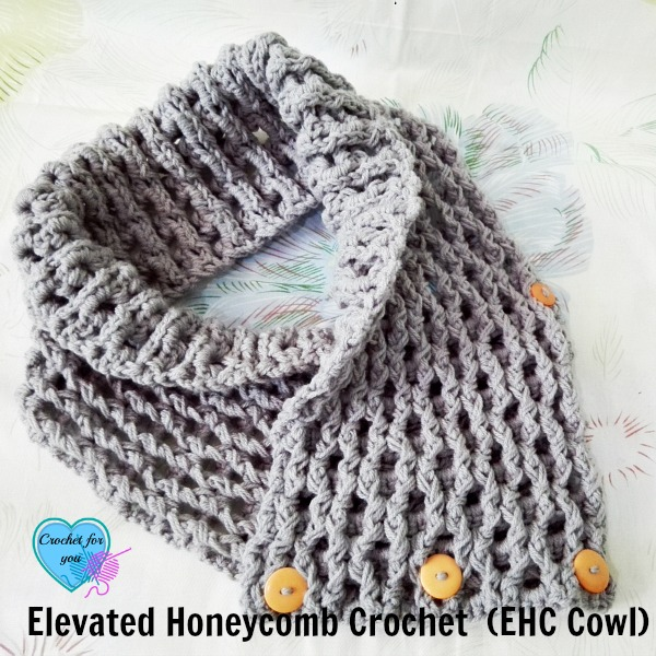 This crochet cowl is warm and full of great texture.