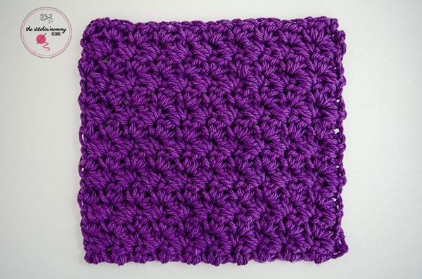 Grit Stitch Dishcloth Interweave