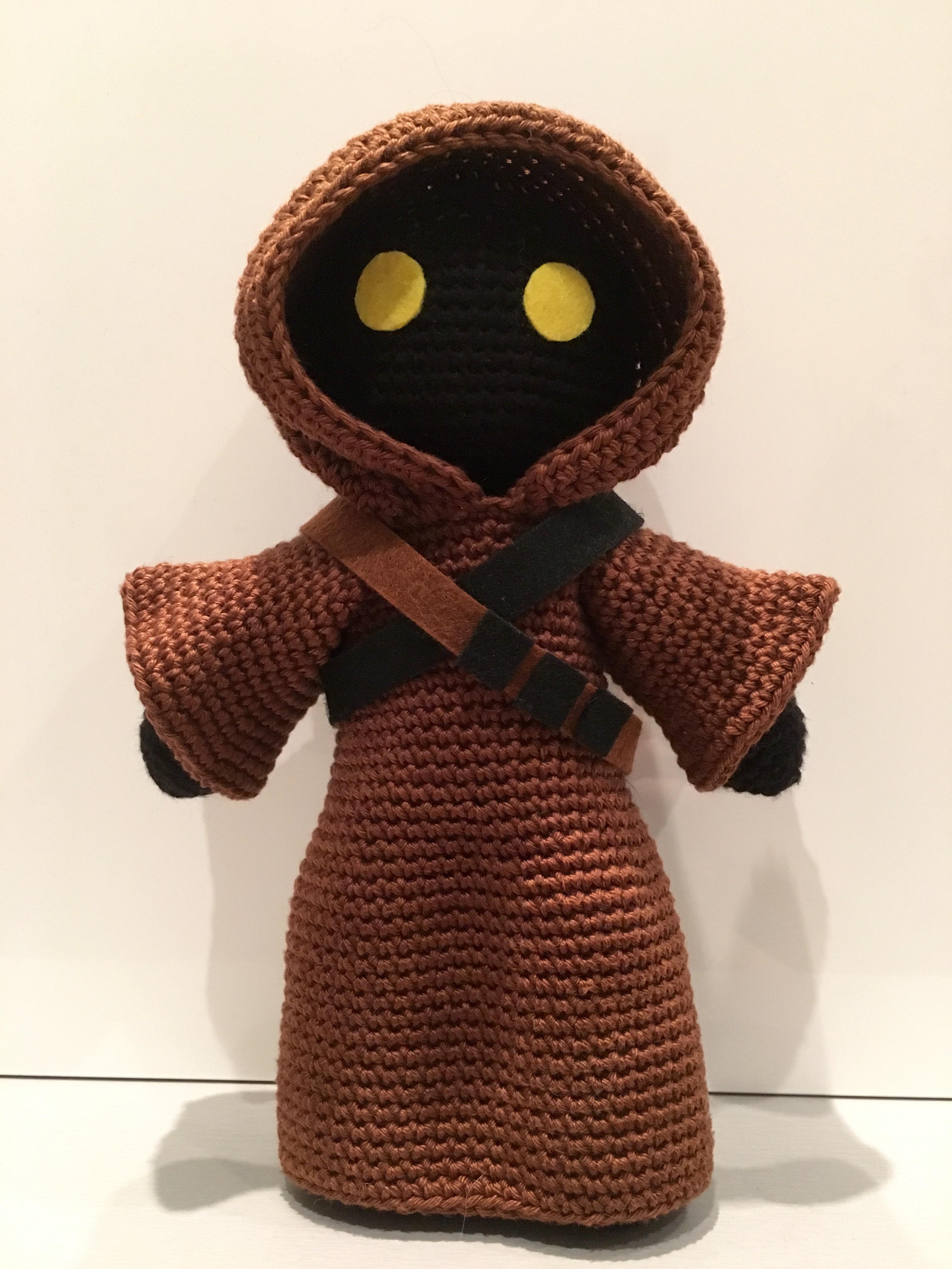 Crocheted Amigurumi Jawa