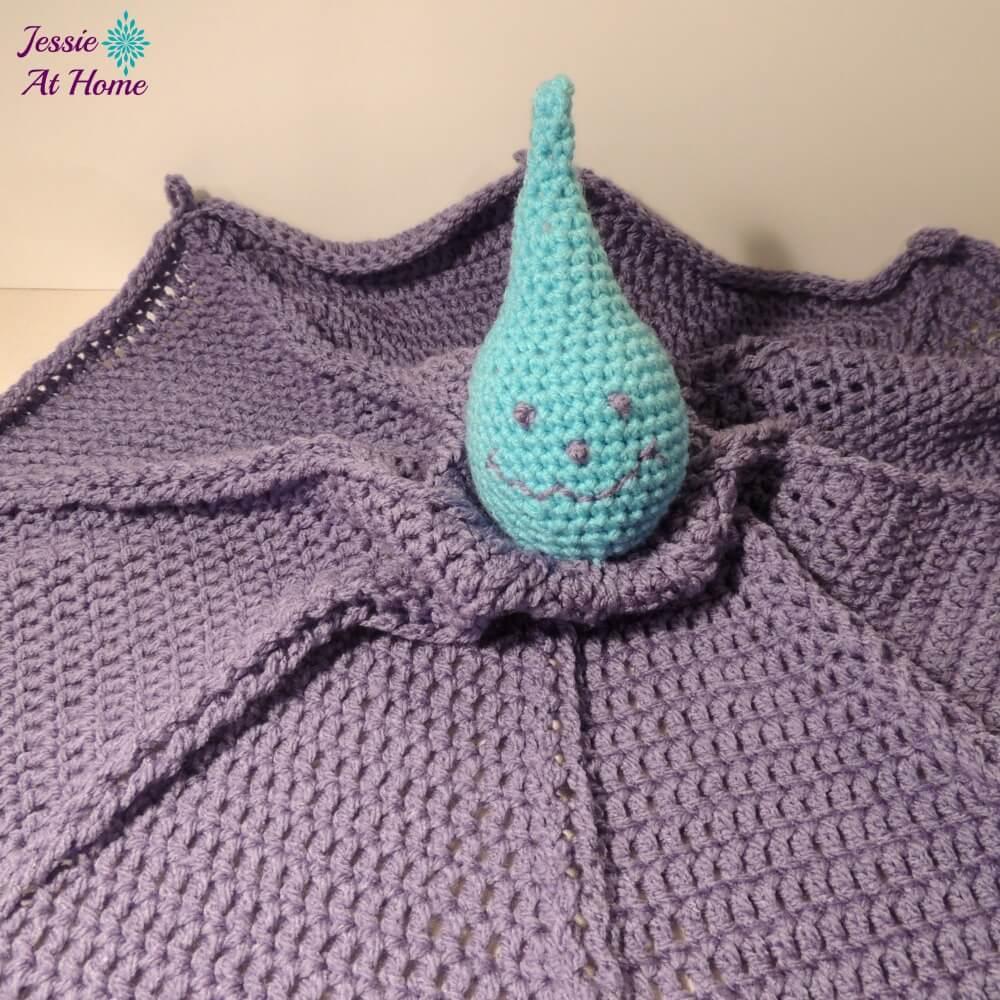 Monster Crochet Blanket