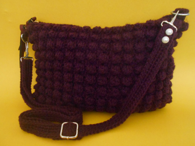 I made a new Crochet purse for those who liked to crochet a new things. Now I made a bobble stitch purse in my own way.