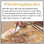 Soldering Saturday Tip to Help Keep Solder in its Place