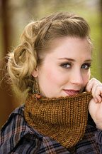 northumbria cowl Knitting Pattern