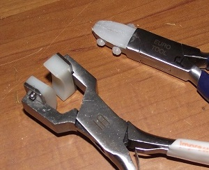 nylon and plastic jaw pliers for wirework