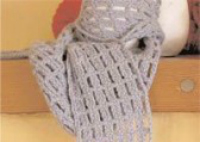 Learn how to crochet a scarf with the Off the Grid scarf pattern: a free crochet scarf pattern!