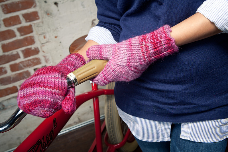 The Arc Mittens are perfect knitted gifts for anyone!