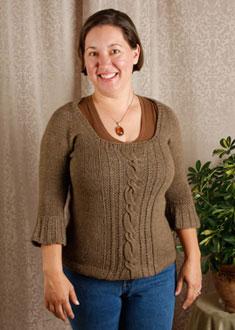 Knitting Gallery - Opulent Raglan Amy