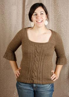 Knitting Gallery - Opulent Raglan Stefanie