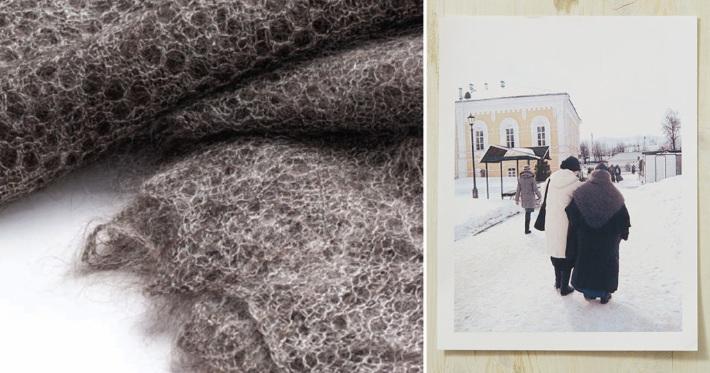 Lock Down Your Lace with the Orenburg Warm Shawl