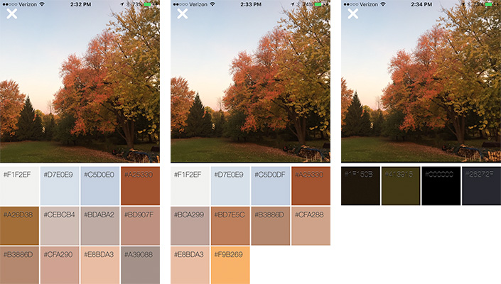 Color Palettes for Jewelry Designs from YOUR Photos