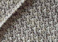 Easy patterned throw free afghan pattern interweave its made in a very easy shell pattern with a border that has one round of single crochet and one round of reverse single crochet dt1010fo