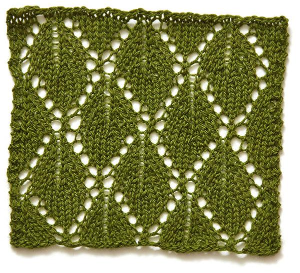 Arbor Day leaf motif