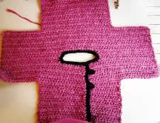 sweater layout