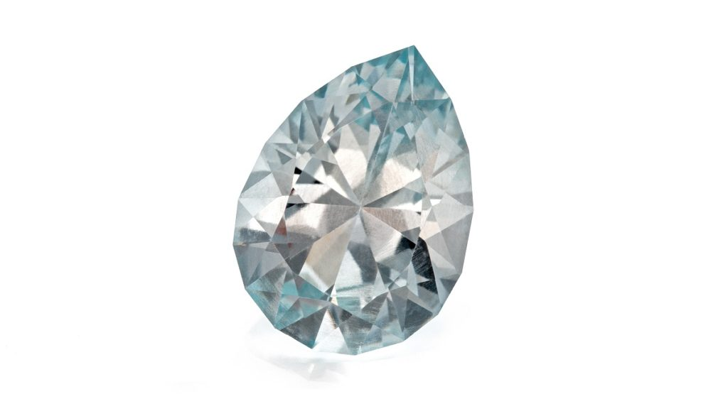 New Gem Faceting: Easy Pear for Topaz by Jim Perkins