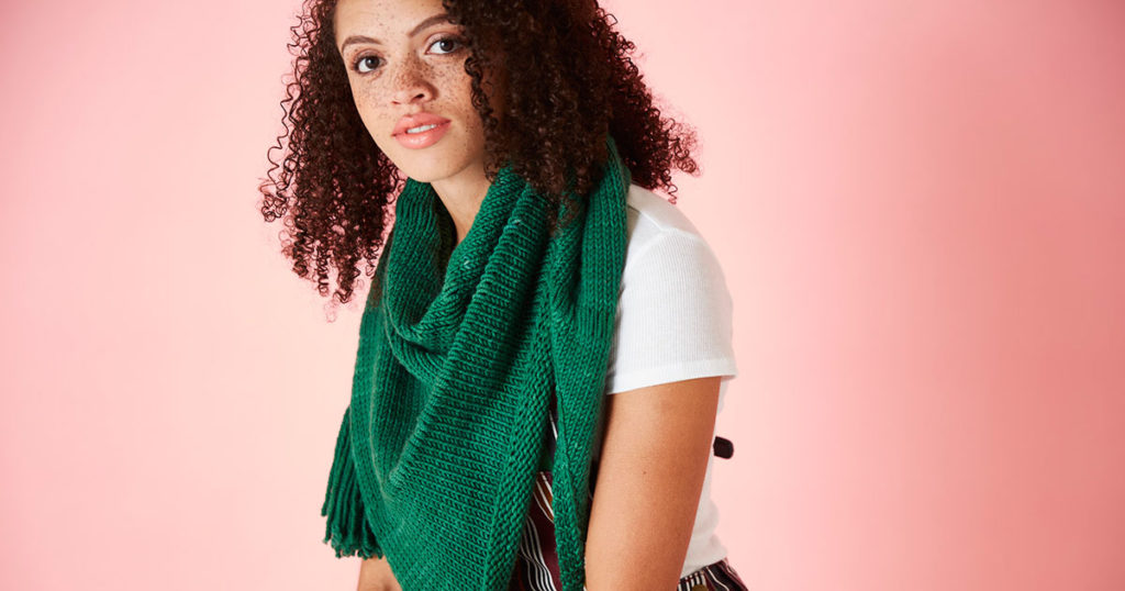 Knit the Periphery Shawl With Your Eyes Closed