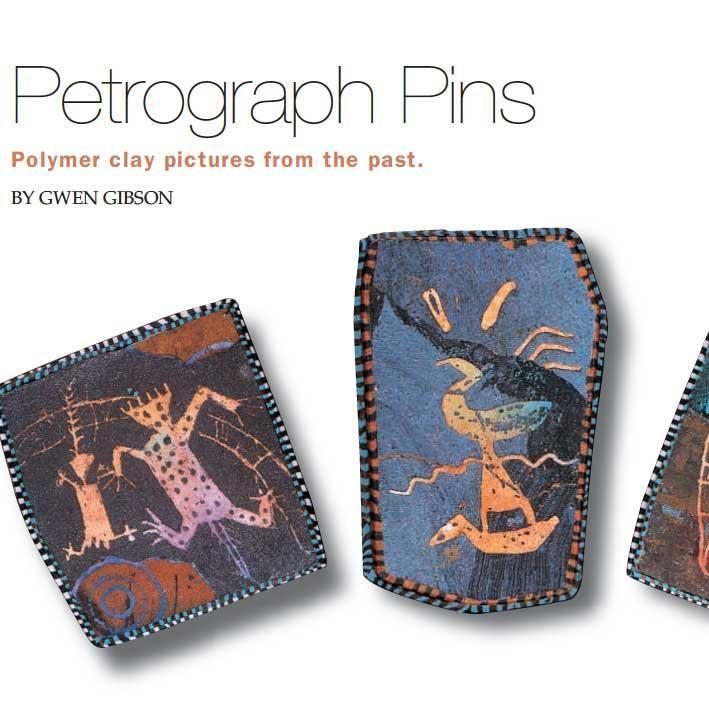 Petroglyph Pins by Gwen Gibson
