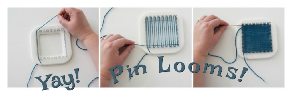 How to Weave With a Pin Loom