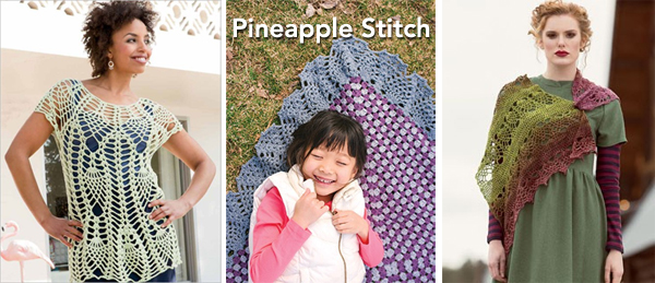 pineapple stitch