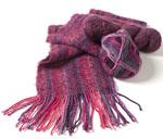 Joan Sheridan's sock-yarn scarf