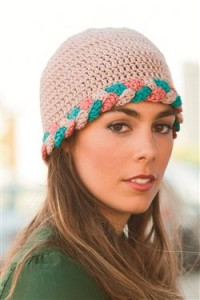 This crochet hat is an easy crochet pattern for a fun gift.