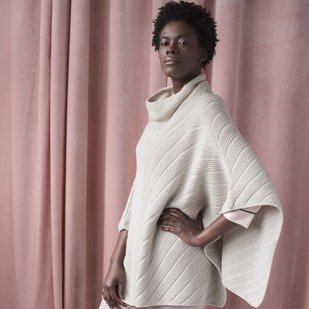 Treat yourself to a super-drapey and comfortable cover-up with the Point Gray Poncho.