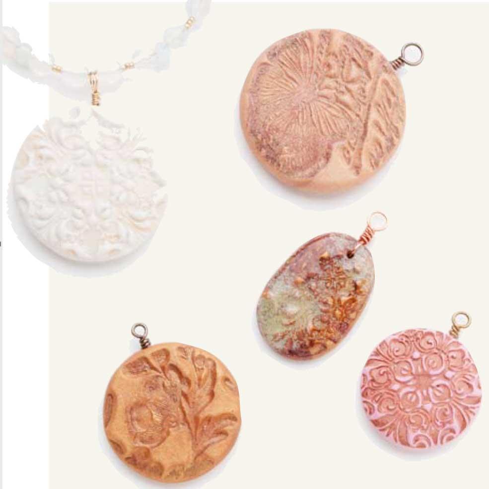 Custom Cool Jewelry by Melinda Barta, multi-media jewelry, customize, polymer clay