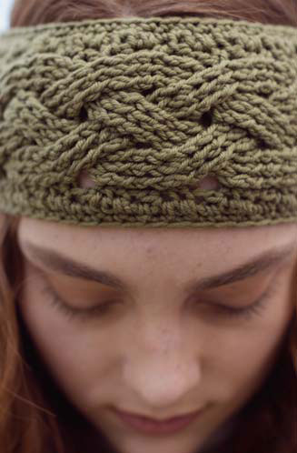 Ponderosa Headband The Crochet Pattern Of The Week You Need