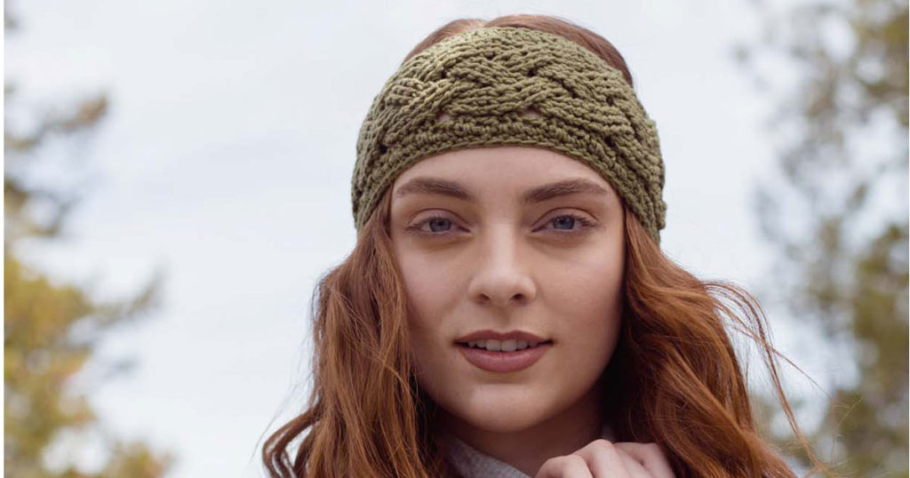 Ponderosa Headband – The Crochet Pattern of the Week You Need