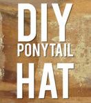 Yarn Hacks: DIY Ponytail Hat!