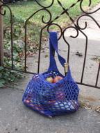 Purple Mesh Bag