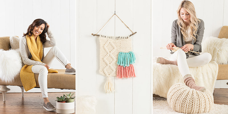 <em>Quick + Easy Knits</em> for a Calming Experience