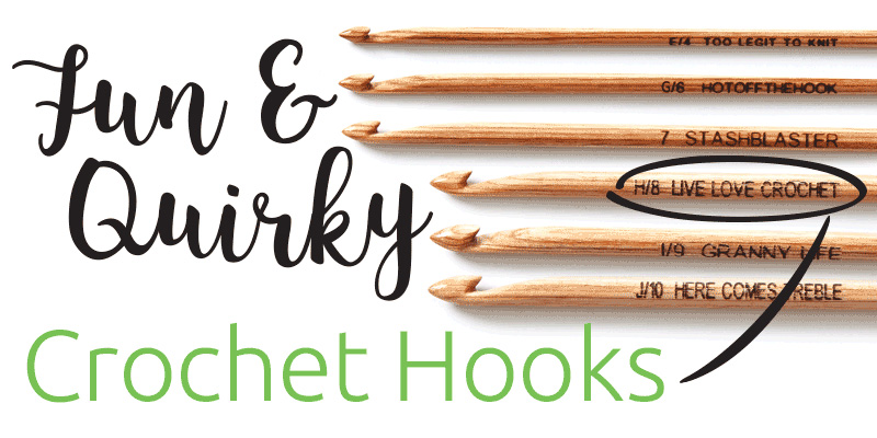 Make Each Project a Joy with Quirky Crochet Hooks