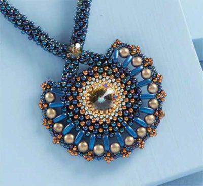 Camellia Bracelet kit, beadweaving, bracelet making, beadweaving pattern, beadwork, crescent beads, two-hole shaped beads