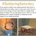 Soldering Saturday: Solutions for Raising Your Work While You Solder