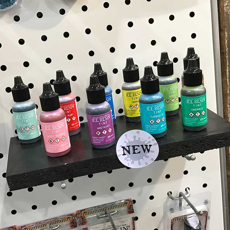 Jewelry Making, Jewelry Making Tools and Supplies, Gemstones Galore - Must be Tucson Time. Ranger Ink ICE Resin Tints