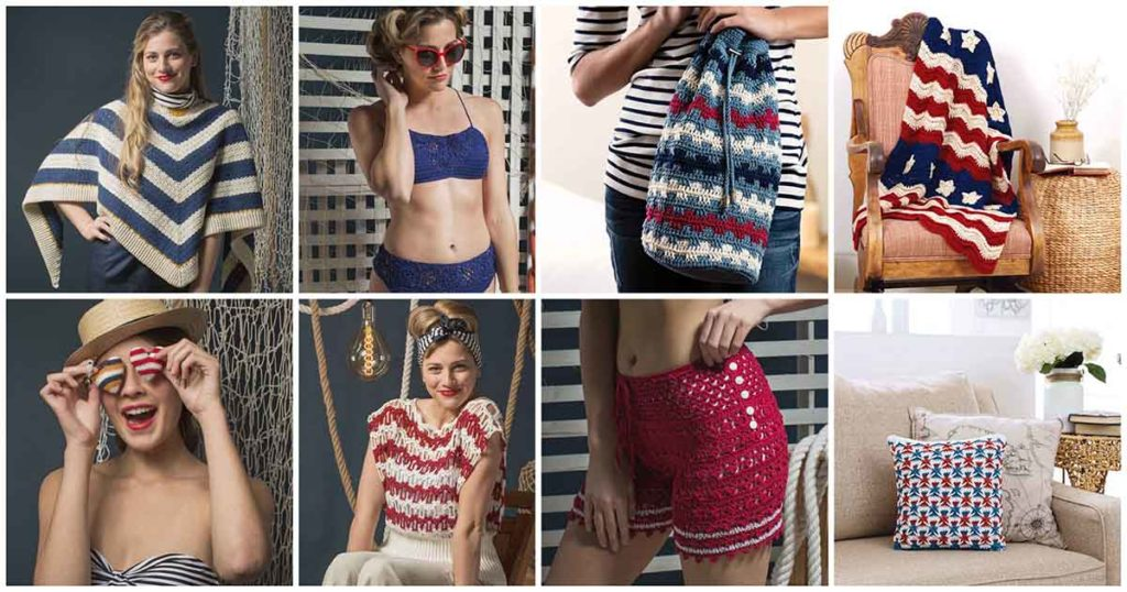 8 Projects to Crochet in Red, White, and Blue!