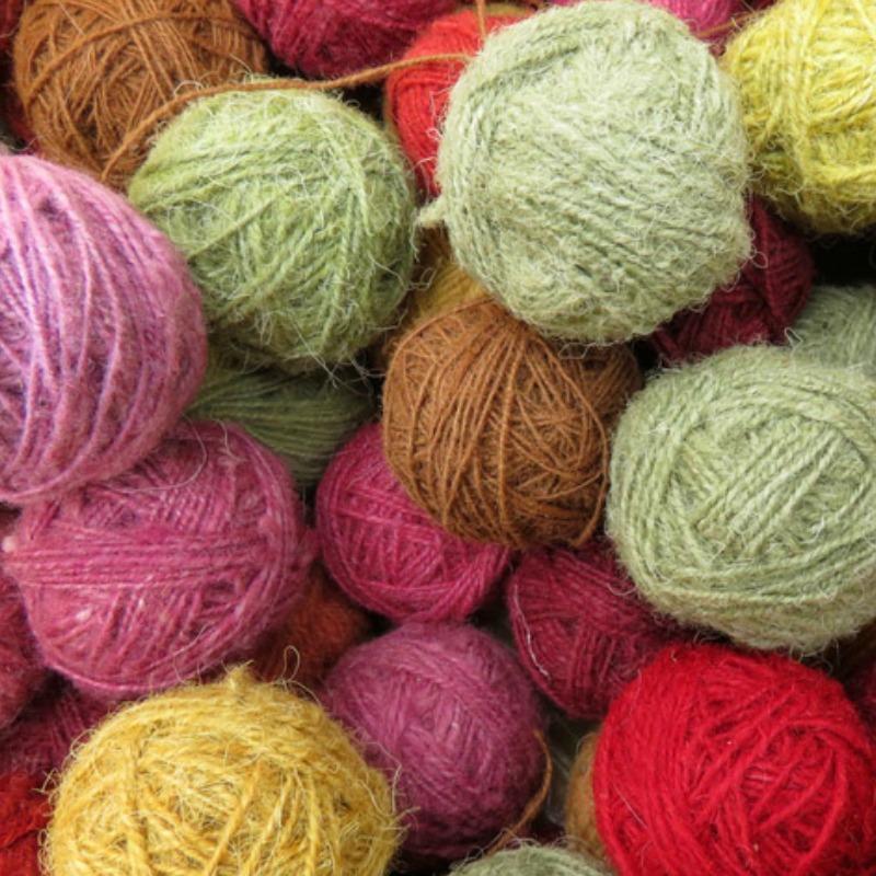 yarn storage organization