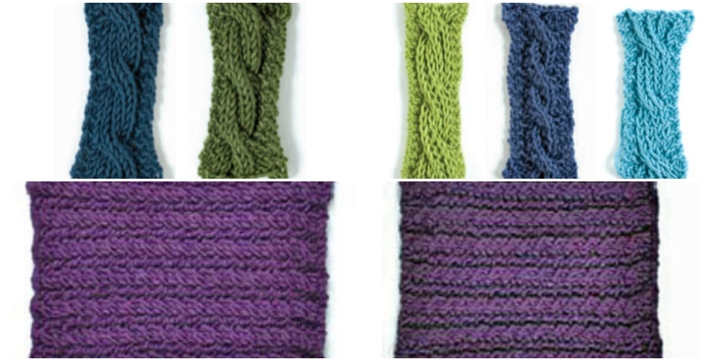 Reversible Knitting Stitches Cables : Reversible Cable Knitting: Free Tutorial and Patterns Interweave