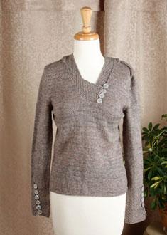 Knitting Gallery - Riding to Avalon Bertha