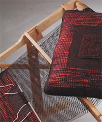 Learn how to read weaving drafts and try out these free handweaving patterns including this rigid heddle loom pattern.