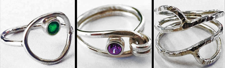 Make Wire Rings with Eva Sherman in Minutes, Perfect for Holiday Gifts and Parties