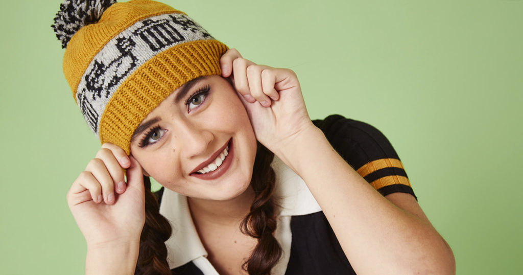 Pattern of the Week: The Ring-Tailed Bandit Hat