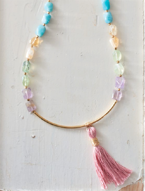 Rock Candy, by Karlin Jones from Jewelry Stringing Secret Garden Party collection