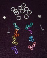 chain maille earring supplies