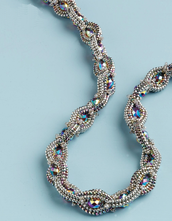 Chain of Jewels by Cristie Prince, 18 Beaded Ropes